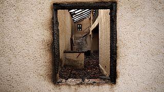 Κατεστραμμένη οικία στο Πευκί Ευβοίας