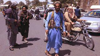 پیشروی طالبان در شهرهای افغانستان