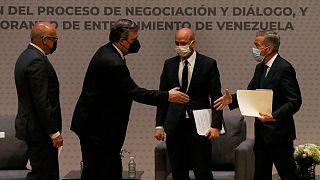 امضای تفاهم همکاری میان مخالفان و دولت ونزوئلا در مکزیکوسیتی