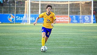Italian footballer breaks barriers, plays in Ugandan super league