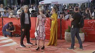 Wim Wenders német filmrendező a 27. Szarajevói Filmfesztiválon