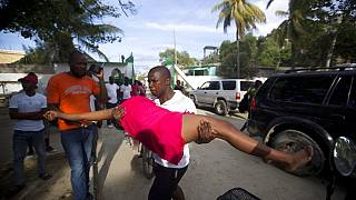 صورة من الارشيف - هزة أرضية- هايتي - 2018