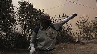 Incêndios na Argélia