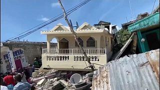 Imágenes de destrucción en Les Cayes, Haití