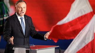 Polonya Cumhurbaşkanı Andrzej Duda