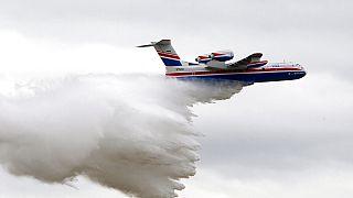 Avião de combate a incêndios cai na Turquia