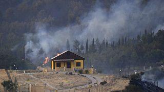 آتشسوزی در ایتالیا