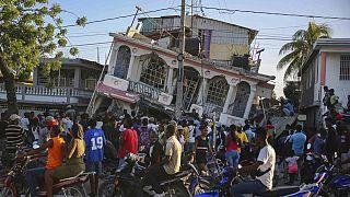 Il Petit Pas Hotel di Les Cayes: immagine-simbolo di questo terremoto.