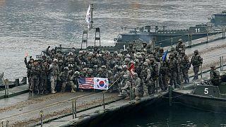 رزمایش نظامی مشترک آمریکا و کره جنوبی
