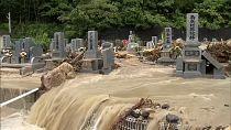Torrential rains cause floods, mudslides in Japan