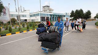 موج تازه مهاجرت از افغانستان(فرودگاه کابل)