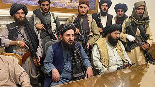 Un grupo de talibanes toma el control del palacio presidencial de Kabul