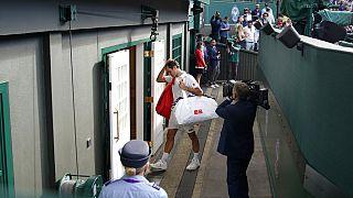 Roger Federer nach seinem Viertelfinal-Aus in Wimbledon 2021