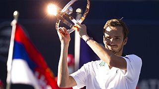 Даниил Медведев - победитель в Торонто
