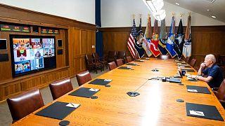 عکس منتشرشده از سوی کاخ سفید