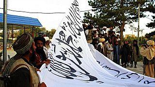 Un gruppo di talebani a Ghazni