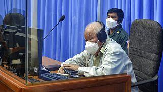 Khieu Samphan im April 2021