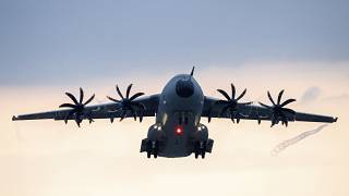 Germany began evacuating personnel from Kabul on an Airbus A400M transport aircraft of the German Air Force.