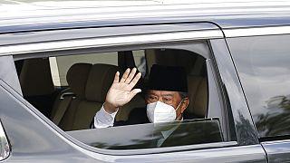 a távozó maláj miniszterelnök