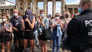 Rise-up,Berlin - Woche des zivilen Ungehorsams bei Klima-Protest