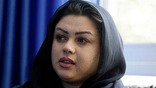 Afgan kadın hakları aktivisti Zarmina Kakar