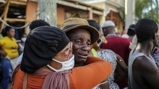"Nach dem Erdbeben in Haiti: Angst vor Sturm ""Grace"""