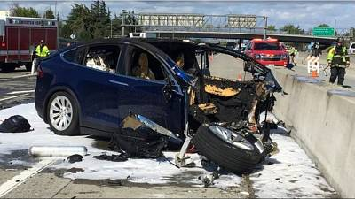 """A US government agency is investigating Tesla after a series of accidents involving its so-called """"Autopilot"""" self-driving technology"""