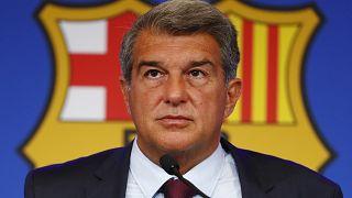 Barcelona President Joan Laporta said the club also suffered a loss of €481 million last season.