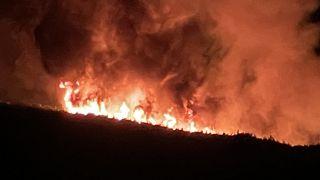 Πυρκαγιά στα Βίλια Αττικής