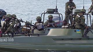 Mozambique : les femmes soldats de l'armée rwandaise