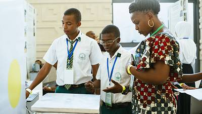 The Young Scientist project in Tanzania, a program which the Institute of Physics helped to initiate