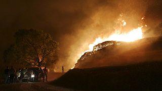 Пожары под Сен-Тропе и Иерусалимом