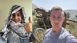 Fotos que Miles Routledge ha compartido en las redes sociales sobre su estancia en Afganistán