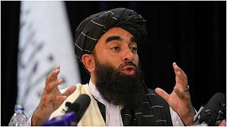 ذبيح الله مجاهد، متحدث باسم حركة طالبان