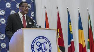 South African summit: Malawi's president pushes for equal vaccine access