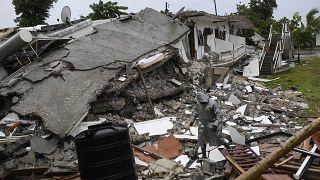 آثار للزلزال المدمّر الذي ضرب هاييتي منتصف شهر آب/أغسطس 2021