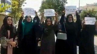 تجمع زنان در کابل