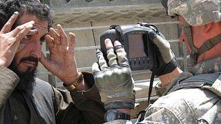 استفاده ارتش آمریکا از دستگاههای بیومتریک برای ثبت هویت افراد