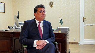 Zaheer A Janjua, Pakistan's Ambassador to the European Union