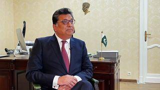 Посол Пакистана в Евросоюзе Захир Джанджуа