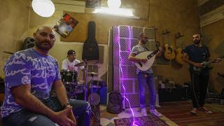 """شادي الصفدي وأعضاء فرقة """"سفر"""""""