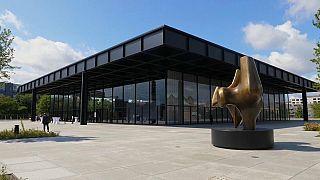 Die Neue Nationalgalerie wurde 1968 eröffnet.