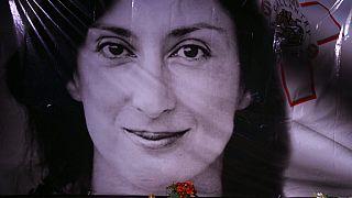 Die investigative Journalistin Daphne Caruana Galizia war am 16.Oktober 2017 auf Malta durch eine Autobombe ermordet worden.
