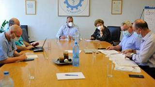 Σύσκεψη υπό τον υπ. Υγείας της Κύπρου