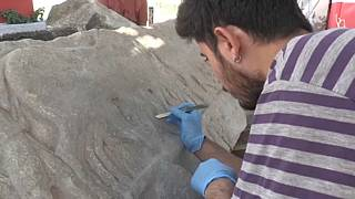 Un equipo de arqueólogos descubre en Turquía un relieve sobre las guerras médicas