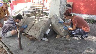 Найденные в Турции барельефы