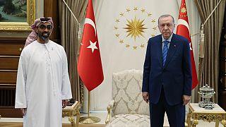 دیدار اردوغان با طحنون، مقام ارشد اماراتی