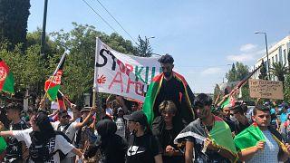 Διαδήλωση αλληλεγγύης για το Αφγανιστάν