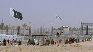 Border crossing point between Pakistan and Afghanistan