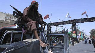 مقاتل من طالبان - هرات 19  آب / أغسطس 2021
